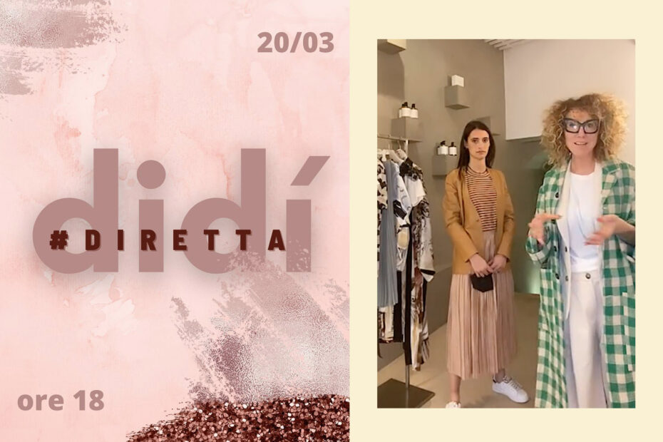 """""""ShopCall and social networks, the recipe to start again"""": the story of Manuela Pecchio of Didì Dual Design, Bra"""