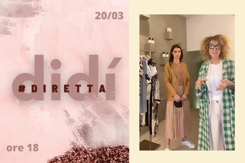 """""""ShopCall e i social, la ricetta per ripartire""""- la storia di Manuela Di Pecchio di Didì Dual Design, Bra"""